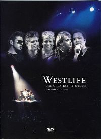 Cover Westlife - The Greatest Hits Tour - Live From M.E.N. Arena [DVD]